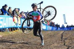 Dominic Grab - Zyklo Kreuz Lizenzfreies Stockfoto