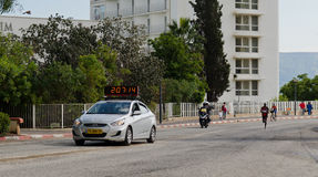 Dominic Ondoro Tiberius Marathon winner Stock Image