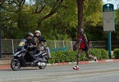 Dominic Ondoro Tiberius Marathon winner. Dominic Ondoro - Tiberius Marathon 2013 winner Royalty Free Stock Photography