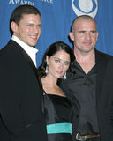 Dominic Purcell, Robin Tunney, Wentworth Miller Royalty Free Stock Photo