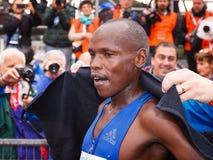 Dominic Ruto Kipngetich wygrywa po drugie miejsce przy 23 ^ Rzym maratonem Zdjęcie Stock