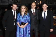 Dominic West, James Purefoy, John Carter, Mark Strong, Samantha Morton Stock Photography