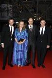 Dominic West, James Purefoy, John Carter, Mark Strong, Samantha Morton Stock Photos