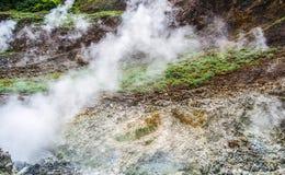 Dominica Boiling Lake Hike Landscape Stock Fotografie
