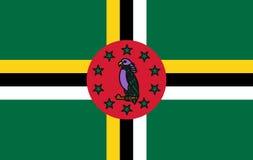 Dominica Flag - illustration d'IllustrationVector de vecteur de Dominica Flag Icon illustration de vecteur