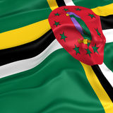 Dominica  flag picture Royalty Free Stock Photos