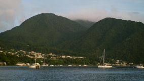 Dominica Island stock video footage