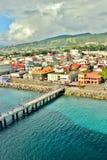 Dominica-Landschaft 4 Lizenzfreies Stockbild