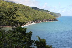 Dominica Shoreline Royalty Free Stock Image