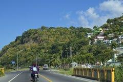 Dominica som är karibisk Royaltyfria Bilder