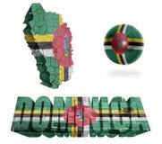 Dominica Symbols Immagine Stock