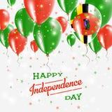 Dominica Vector Patriotic Poster självständighet Arkivfoto