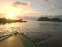 Dominica Water Foto de archivo libre de regalías