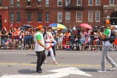Dominicaanse de Dagparade 1 van Bronx van 2015 Stock Foto's