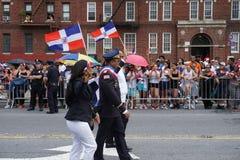 Dominicaanse de Dagparade 7 van Bronx van 2015 Stock Foto's