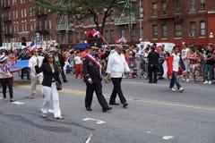 Dominicaanse de Dagparade 8 van Bronx van 2015 Stock Afbeeldingen