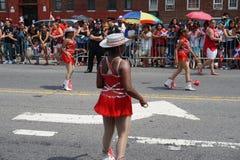 Dominicaanse de Dagparade 9 van Bronx van 2015 Royalty-vrije Stock Foto's