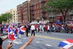 Dominicaanse de Dagparade 11 van Bronx van 2015 Stock Afbeelding