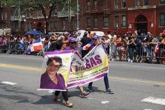 Dominicaanse de Dagparade 16 van Bronx van 2015 Stock Foto