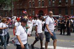 Dominicaanse de Dagparade 17 van Bronx van 2015 Stock Afbeelding