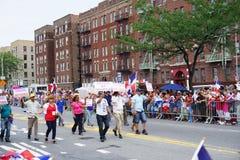 Dominicaanse de Dagparade 18 van Bronx van 2015 Stock Fotografie