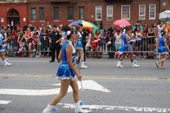 Dominicaanse de Dagparade 32 van Bronx van 2015 Stock Foto's
