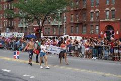 Dominicaanse de Dagparade 34 van Bronx van 2015 Stock Foto