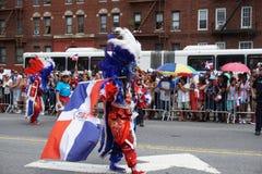 Dominicaanse de Dagparade 37 van Bronx van 2015 Stock Foto's
