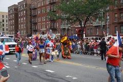 Dominicaanse de Dagparade 39 van Bronx van 2015 Royalty-vrije Stock Foto