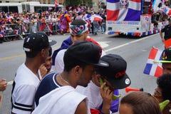 Dominicaanse de Dagparade 40 van Bronx van 2015 Royalty-vrije Stock Afbeelding