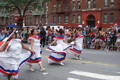 Dominicaanse de Dagparade 41 van Bronx van 2015 Royalty-vrije Stock Foto's