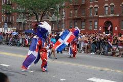 Dominicaanse de Dagparade 43 van Bronx van 2015 Stock Afbeelding