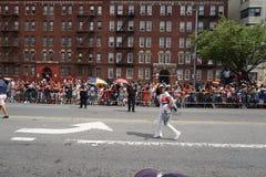 Dominicaanse de Dagparade 52 van Bronx van 2015 Stock Afbeelding