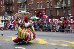 Dominicaanse de Dagparade 54 van Bronx van 2015 Stock Afbeeldingen