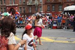 Dominicaanse de Dagparade 55 van Bronx van 2015 Royalty-vrije Stock Foto