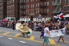 Dominicaanse de Dagparade 57 van Bronx van 2015 Stock Fotografie