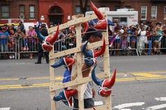 Dominicaanse de Dagparade 58 van Bronx van 2015 Stock Fotografie