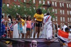 Dominicaanse de Dagparade 62 van Bronx van 2015 Royalty-vrije Stock Fotografie