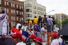 Dominicaanse de Dagparade 63 van Bronx van 2015 Royalty-vrije Stock Afbeeldingen