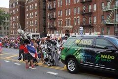 Dominicaanse de Dagparade 65 van Bronx van 2015 Royalty-vrije Stock Foto