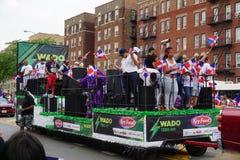 Dominicaanse de Dagparade 71 van Bronx van 2015 Royalty-vrije Stock Fotografie