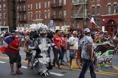 Dominicaanse de Dagparade 72 van Bronx van 2015 Stock Foto