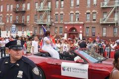 Dominicaanse de Dagparade 73 van Bronx van 2015 Stock Afbeelding