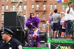 Dominicaanse de Dagparade 76 van Bronx van 2015 Royalty-vrije Stock Foto