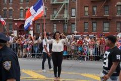 Dominicaanse de Dagparade 85 van Bronx van 2015 Stock Foto's