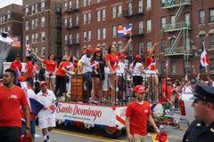 Dominicaanse de Dagparade 89 van Bronx van 2015 Stock Foto