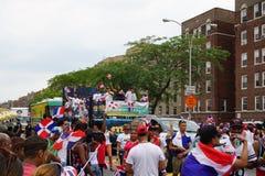 Dominicaanse de Dagparade 90 van Bronx van 2015 Stock Fotografie