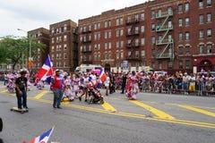 Dominicaanse de Dagparade 92 van Bronx van 2015 Stock Afbeeldingen