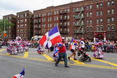 Dominicaanse de Dagparade 93 van Bronx van 2015 Royalty-vrije Stock Foto