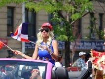 Dominicaanse de Dagparade 3 van Bronx van 2016 Royalty-vrije Stock Foto's